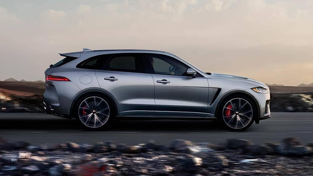 2019 Jaguar F-PACE Side Profile