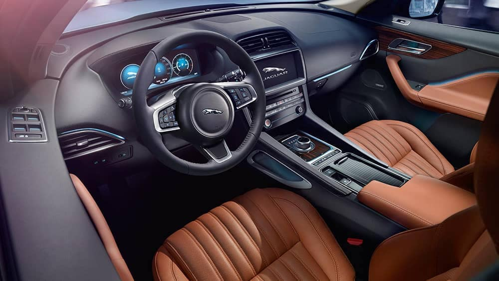 2019 Jaguar F-PACE Interior Features
