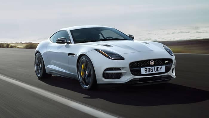 2019 Jaguar F TYPE Driving