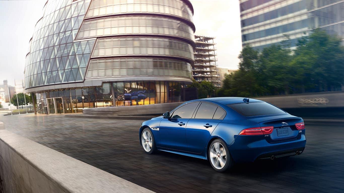 2019 Jaguar XE Driving