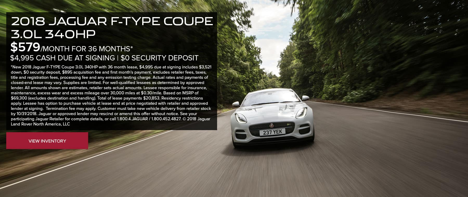 F-TYPE-COUPE Oct Banner