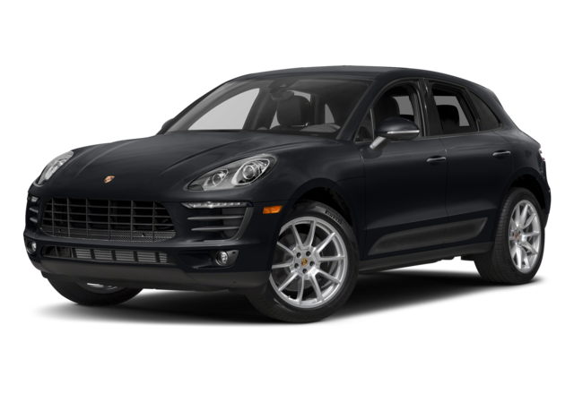 Black Porsche Macan