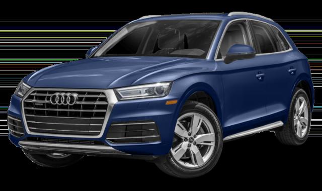 Blue Audi Q5