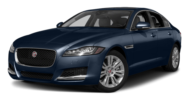 Dark Blue Jaguar XJ