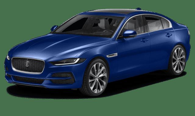 Blue 2020 Jaguar XE