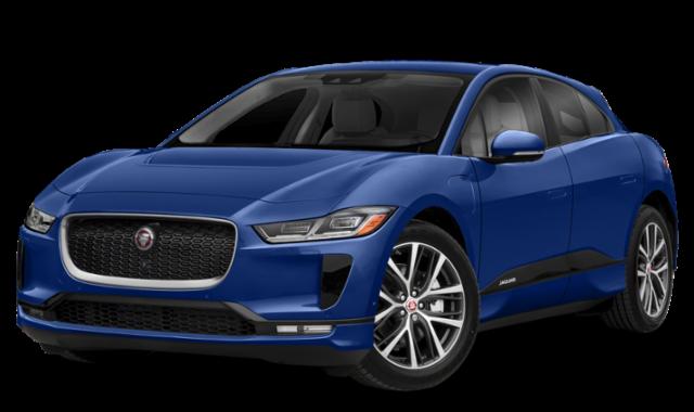 Blue 2019 Jaguar I-PACE
