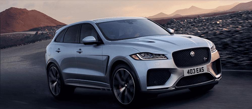 New jaguar f pace 2020