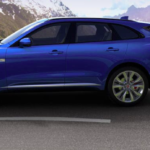 Blue Jaguar F-PACE