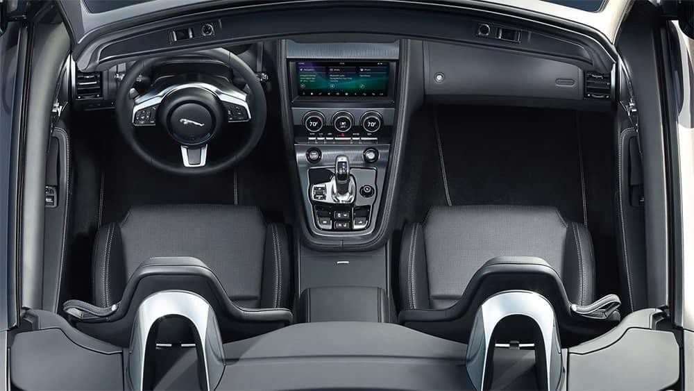 2020-Jaguar-F-TYPE-interior-view-of-center-console