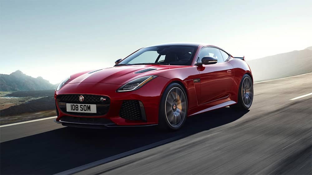 2020-Jaguar-The-F-TYPE-SVR-in-Caldera-Red-on-open-road