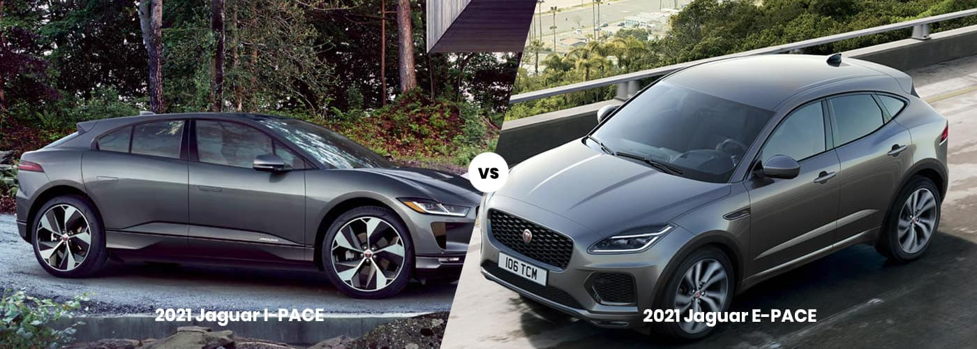 Jaguar I-PACE vs. Jaguar E-PACE