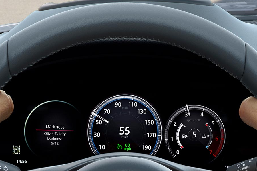 2018 Jaguar E-PACE Performance Display