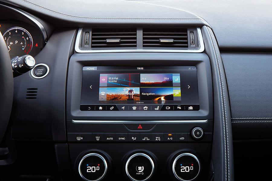 2018 Jaguar E-PACE Touch Pro System