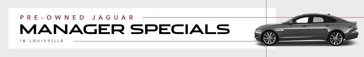 Used Jaguar Special Offers