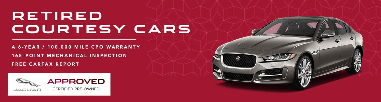 Jaguar Courtesy Cars