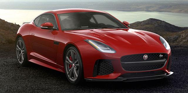 Jaguar SVR Coupe