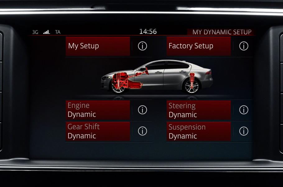 2018 Jaguar XE Driving Dynamics