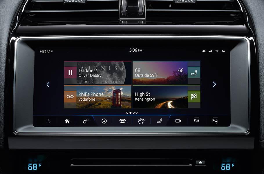 2018 Jaguar XE InControl Touch Pro™