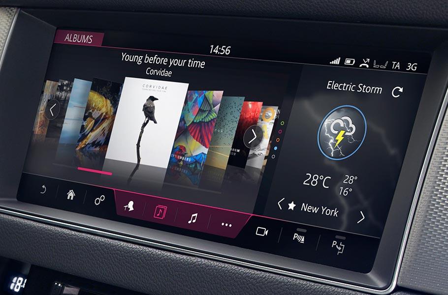 2018 Jaguar XF InControl Touch Pro