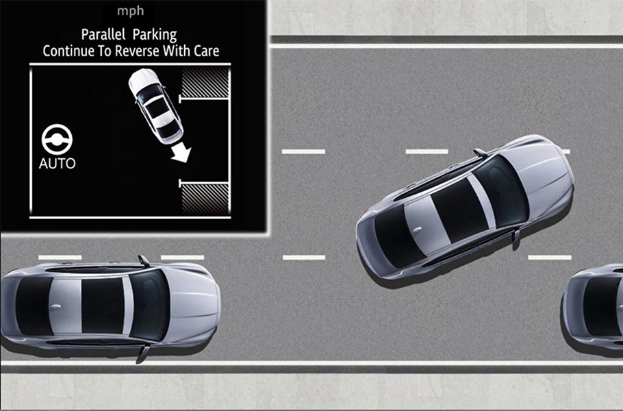 2020 Jaguar XF Park Assist Technology