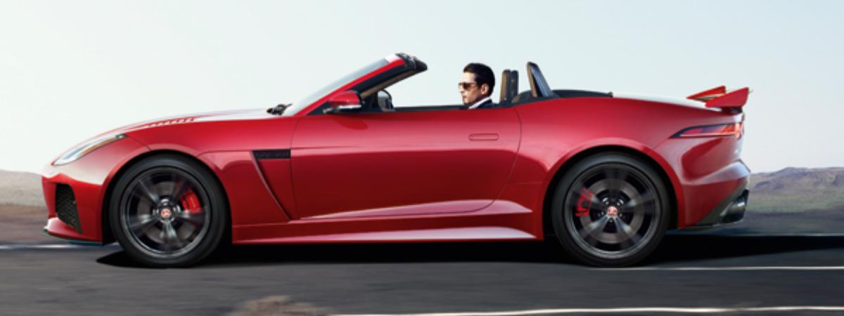 Jaguar F-Type lease special
