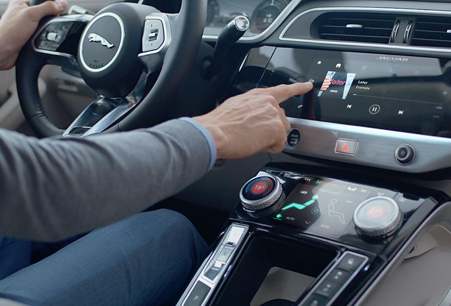 2019 Jaguar I-PACE Interactive Driver Display