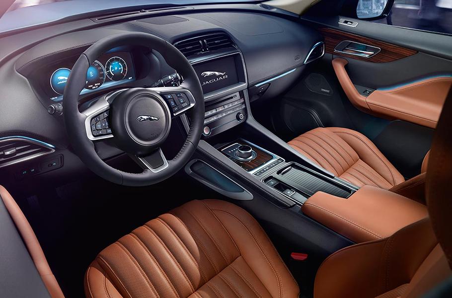 2019 Jaguar F-PACE Portfolio Interior