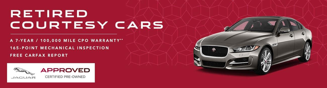 Jaguar Courtesy Cars