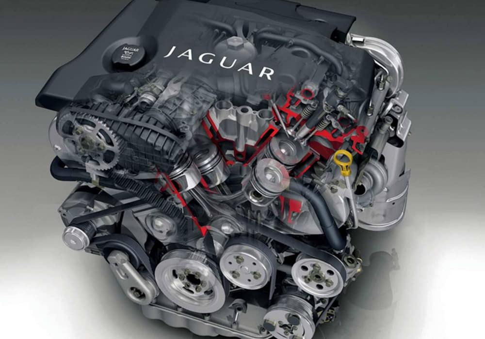 2019 Jaguar XF Engine