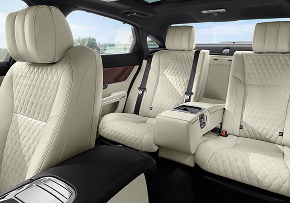 2019 Jaguar XJL Rear Seating