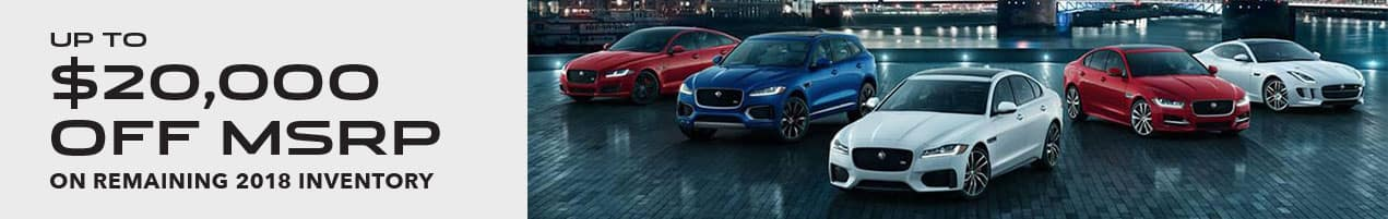 Jaguar Model Year End Clearance