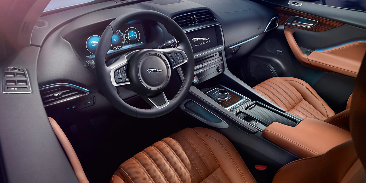 Jaguar F-PACE Interior dash view