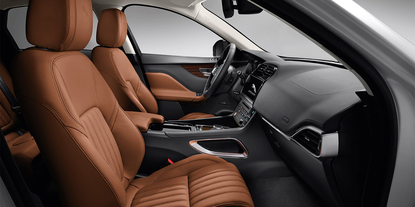 Jaguar F-PACE interior seats