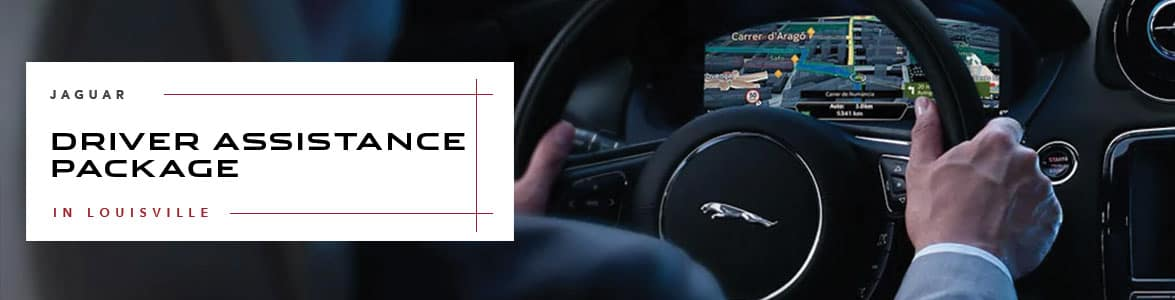 Jaguar Driver Assistance Package at Jaguar Louisville