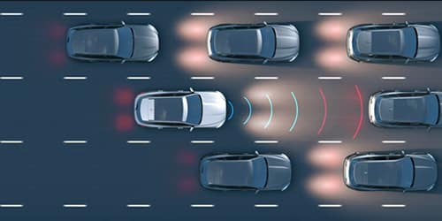 Jaguar Adaptive Cruise Control