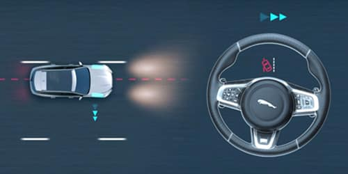 Jaguar Lane Departure Warning