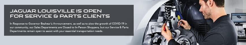 Service is Open (COVID-19)