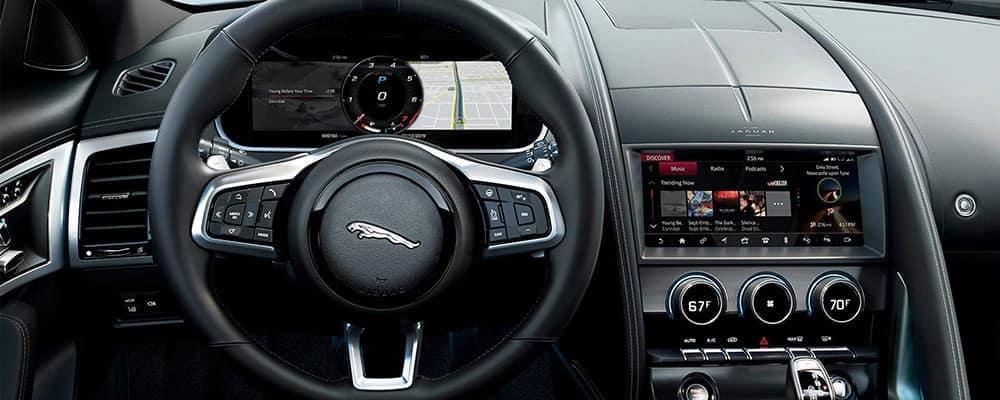Jaguar F-TYPE Display