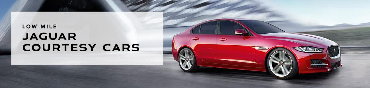 Low Mile Jaguar Courtesy Cars