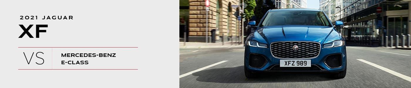 2021 Jaguar XF vs Mercedes-Benz E-Class Comparison - Jaguar Louisville