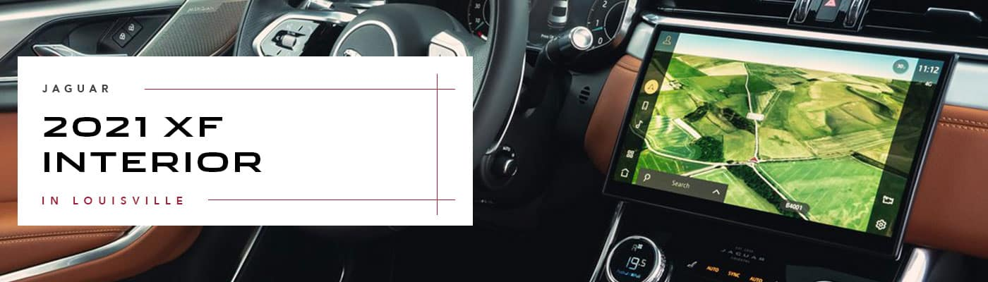 2020 Jaguar XF Interior Overview at Jaguar Louisville