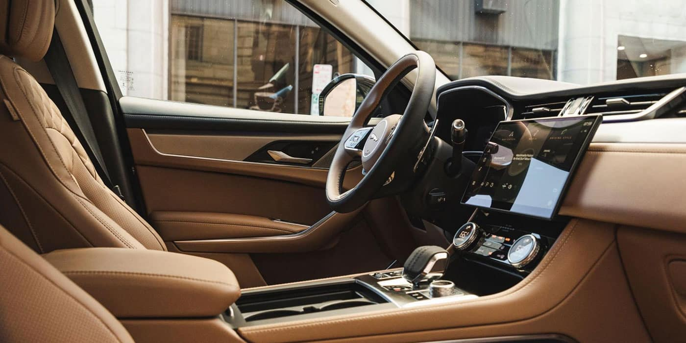 Jaguar F-PACE interior seats