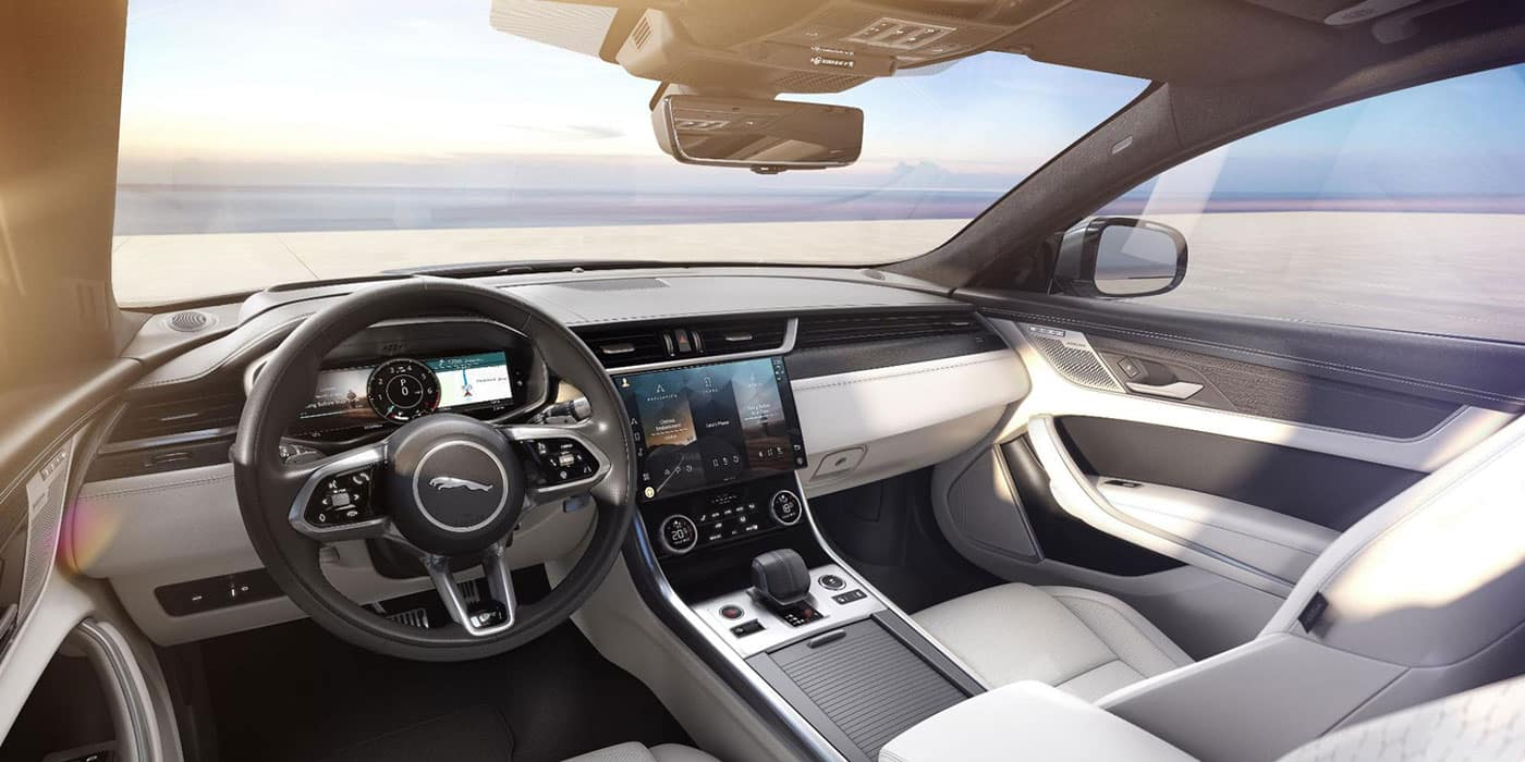 Jaguar XF Interior Front
