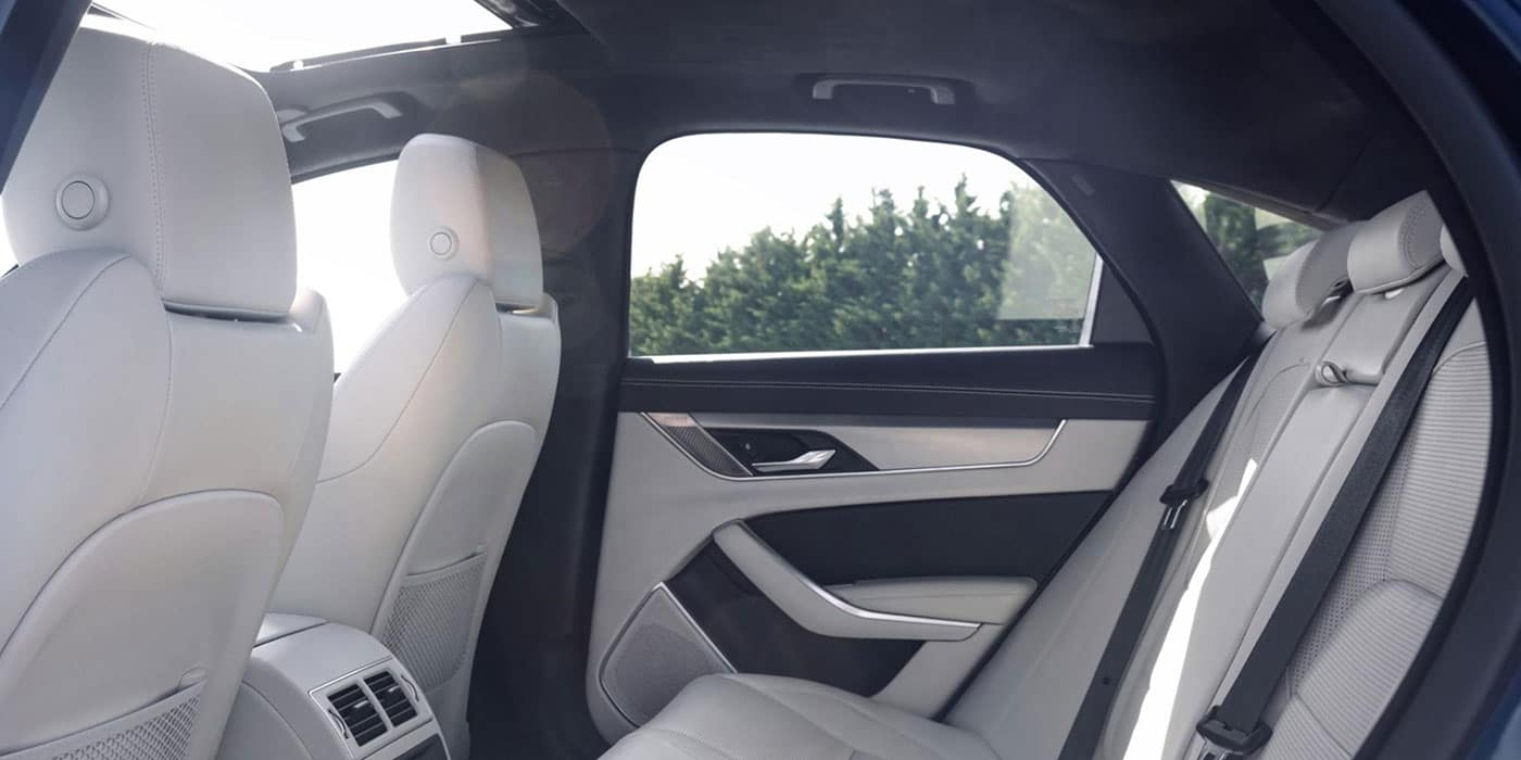 Jaguar XF Interior Rear