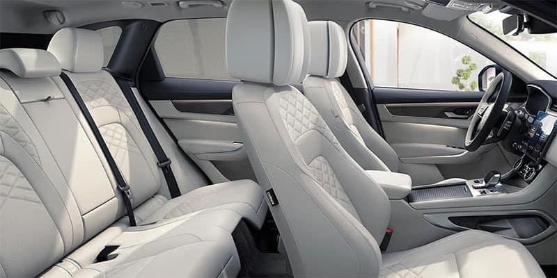 Jaguar F-PACE Seating