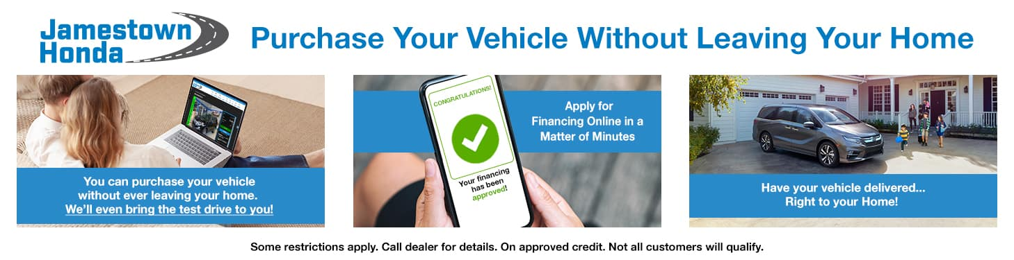 Purchase Your Vehicle Without Leaving Home