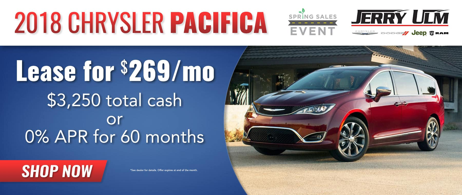 Chrysler Pacifica special