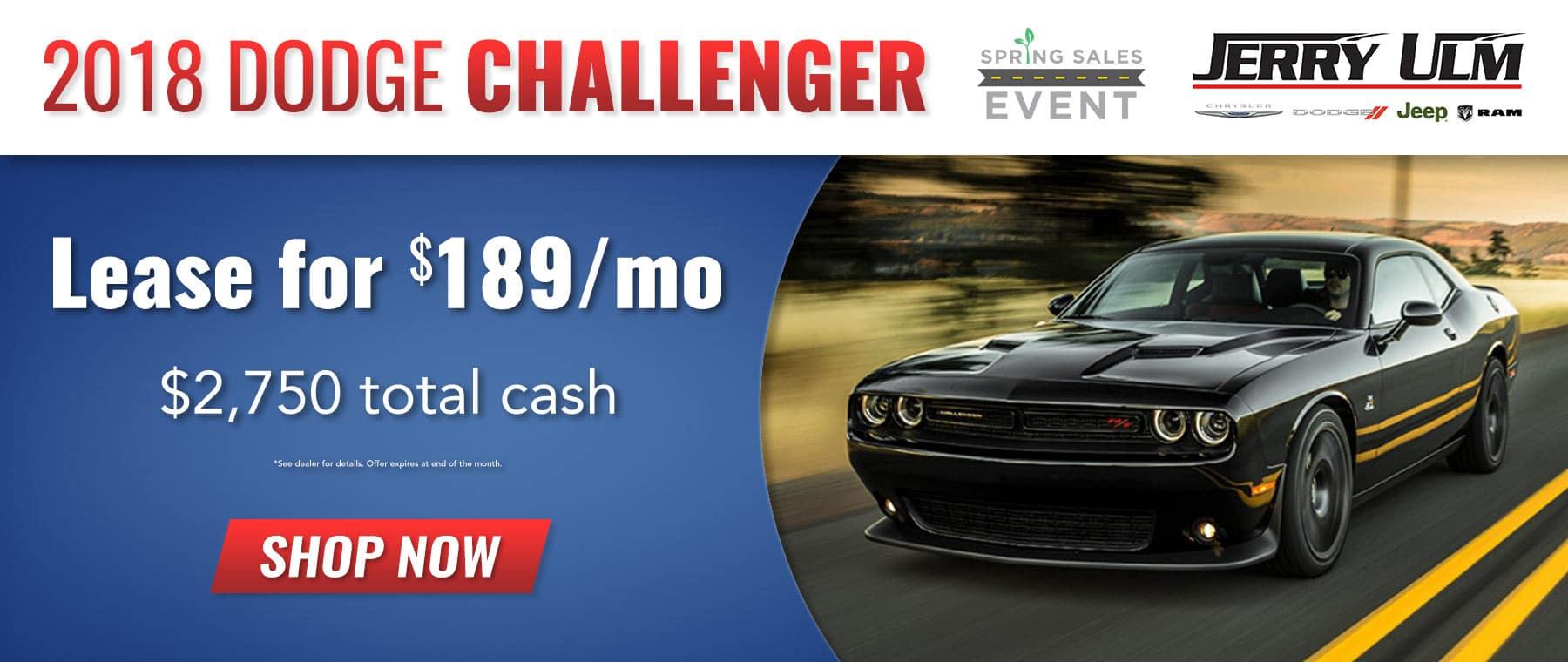 2018 Dodge Challenger special