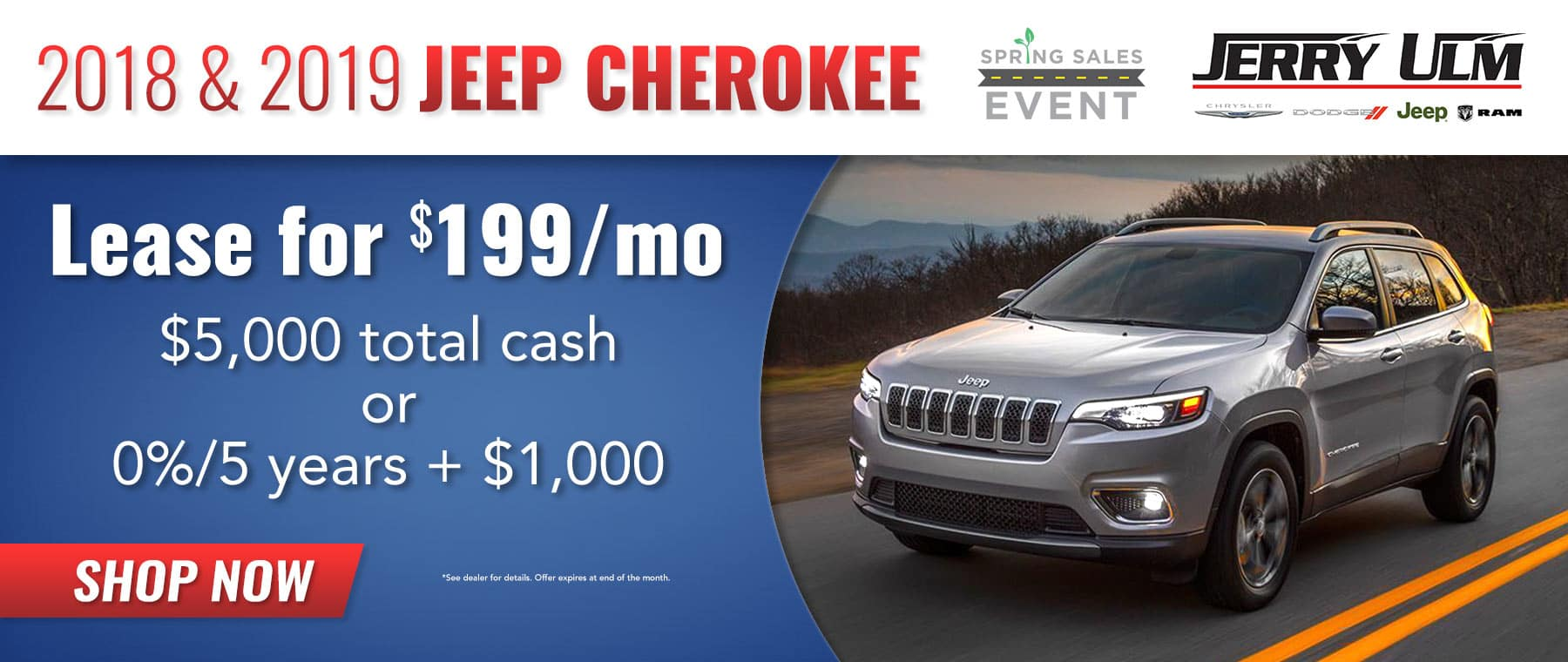 Jeep Cherokee special