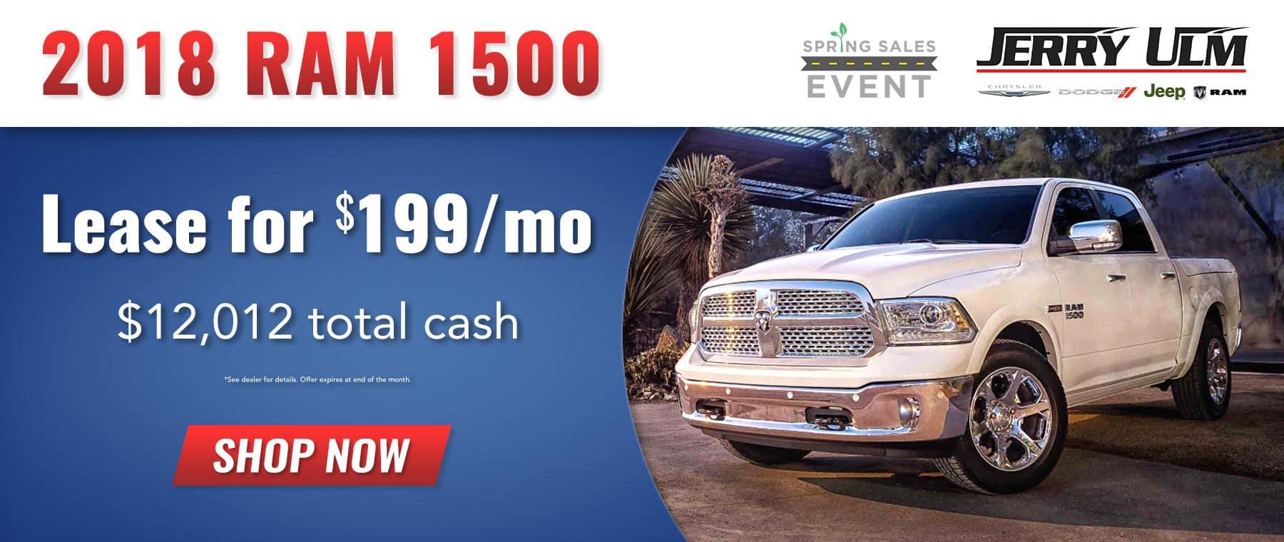 2018 RAM 1500 special